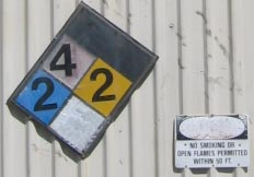 Peterson Products hazard signs