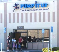 Pump It Up - The Inflattable Party Zone